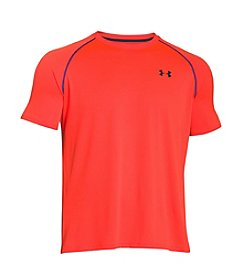Under Armour® Men's Contrast Piping Short Sleeve Tech Crew Neck Tee