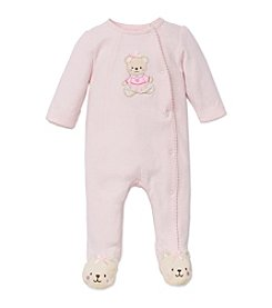 Little Me® Baby Girls' Ballerina Bear Footie