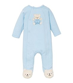 Little Me® Baby Boys' Handsome Bear Footie