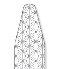 The Macbeth Collection Ironing Board Cover in Kelly Silver