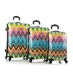 Heys® America Colour Herringbone Luggage Collection