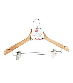 Simplify 2-Pack Natural Suit Hangers