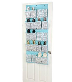 ClosetCandie Dove Grey 20-Pocket Shoe Organizer