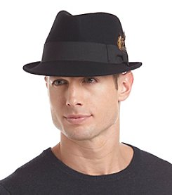 LAKE of the ISLES® Men's Wool Fedora With Bow Band