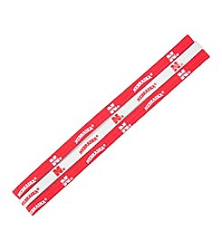 NCAA® University of Nebraska Elastic Headbands - Set of 3