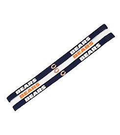 Little Earth NFL® Chicago Bears Set of 3 Elastic Headbands