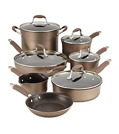 Anolon® Advanced Bronze 12-pc. Hard-Anodized Nonstick Cookware Set + FREE GIFT see offer details