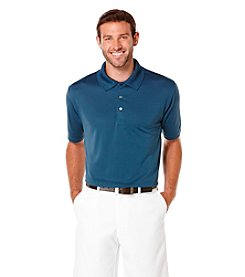 PGA TOUR® Men's Big & Tall Short Sleeve Solid Airflux Polo