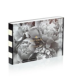 kate spade new york® Black Stripes Picture Frame