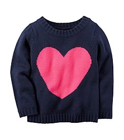 Carter's Girls' 12M-24M Heart Sweater