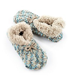 Fuzzy Babba® Teddy Fur Slipper Socks