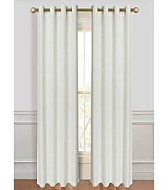 Dainty Home Antique Silk Window Curtain Panels (Set of 2)