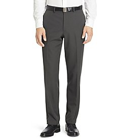 Van Heusen Men's Chevron Straight-Fit No-Iron Dress Pants