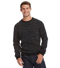 Paradise Collection Men's Long Sleeve Spacedye Crew Neck Sweater