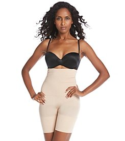 ASSETS® Red Hot Label™by Spanx Flat-Out Flawless High Waist Mid-Thigh Shaper