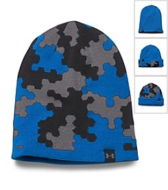 Under Armour® Boys' 4 In 1 Camo Beanie