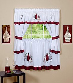 Achim Cabernet Embellished Cottage Set