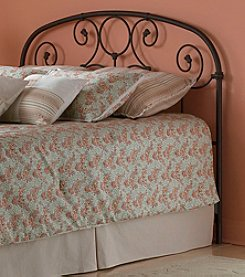 Fashion Bed Group® Grafton Twin Metal Headboard with Rusty Gold Finish