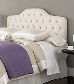 Fashion Bed Group® Martinique Twin Upholstered Headboard Panel with Frame and Button-Tufted Design