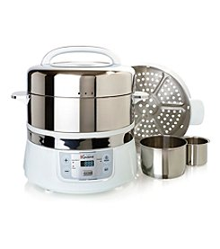 Euro Cuisine® Stainless Steel Electric Food Steamer