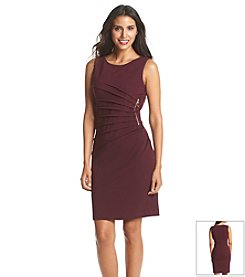 Ivanka Trump Starburst Crepe Sheath Dress
