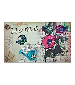 Achim Home Welcome Outdoor Rubber Entrance Mat