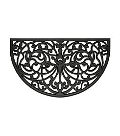Ironworks Wrought Iron Rubber Mat Slice