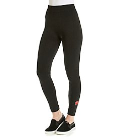 ZooZatZ™ NCAA® Wisconsin Badgers Women's Fleece-Lined Leggings