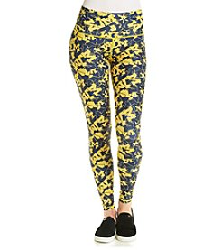 ZooZatZ™ NCAA® Michigan Wolverines Women's Printed Leggings