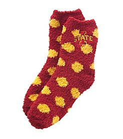 ZooZatZ™ NCAA® Iowa State Cyclones Fuzzy Dot Socks