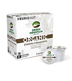 Keurig® Green Mountain Coffee® Organic Ethiopia Yirgacheffe Light Roast Coffee 16-Pk. K-Cup Pods