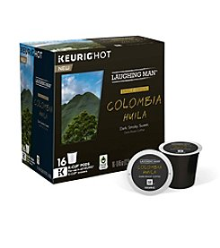 Keurig® Laughing Man® Colombia Huila Dark Roast Coffee 16-ct. K-Cup Pods