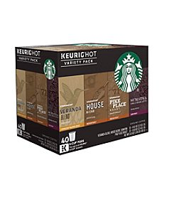 Keurig® Starbucks Coffee 40-Pk. Variety Pack K-Cup + GET THIS FREE see offer details