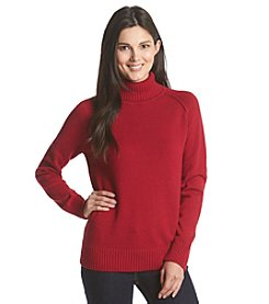 Jeanne Pierre® Cotton Turtleneck