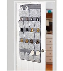 Laura Ashley® Non-Woven 20-Pocket Shoe Organizer