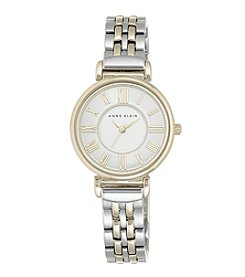 Anne Klein® Two-Tone Bracelet Watch With Roman Numeral Dial