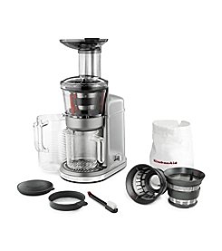 KitchenAid® KVJ0111CU Maximum Extraction Slow Juicer