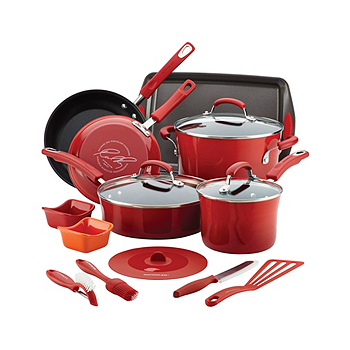 16-Pc. Rachael Ray Nonstick Cookware Set