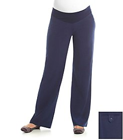 Three Seasons Maternity™ Adjustable Waist Dress Pants