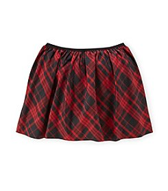 Polo Ralph Lauren® Girls' 2T-16 Plaid Pull On Skirt