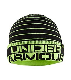 Under Armour® Boys' Cuff Stripe Beanie