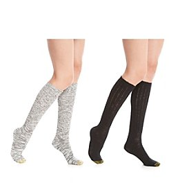 GOLD TOE® 2-Pack Slouch Boot Socks