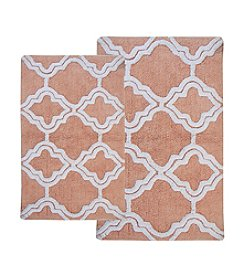 Chesapeake Double Quatrefoil 2-pc. Bath Rug Set