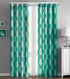 Intelligent Design Adwin Window Curtain or Kitchen Tier