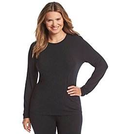 Cuddl Duds® Plus Size Softwear Stretch Long Sleeve Top