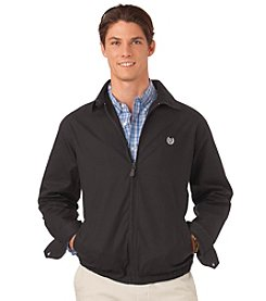 Chaps® Men's Twill Full-Zip Jacket Barracuda Jacket