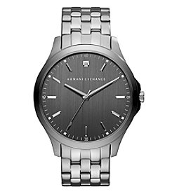 A|X Armani Exchange Gunmetal Ion Plated Stainless Steel Bracelet Watch