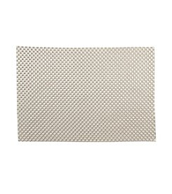 LivingQuarters Silver Basketweave Placemat