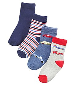 Statements Boys' 2T-4T Car Socks
