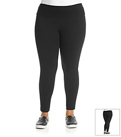 Laura Ashley® Plus Size Basic Knit Legging